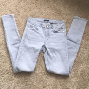 Gray Jeans.
